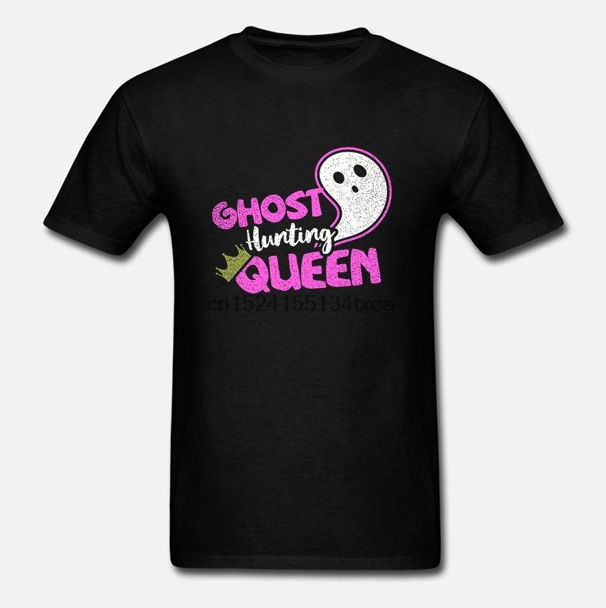 Homens camisetas Ghost Hunter shirt Caça Fantasma rainha presente shirt t-shirt t esporte moletom com capuz Hoodie