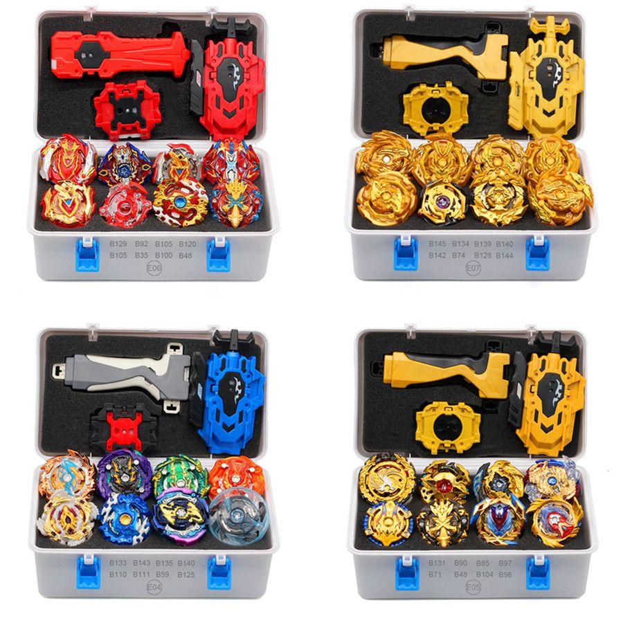 الذهب تاكارا تومي قاذفة بي بليد انفجار AREAN Bayblades Bables مجموعة صندوق بك بليد ألعاب مثيرة للمعدن الطفل فيوجن الجديدة هدية 201014