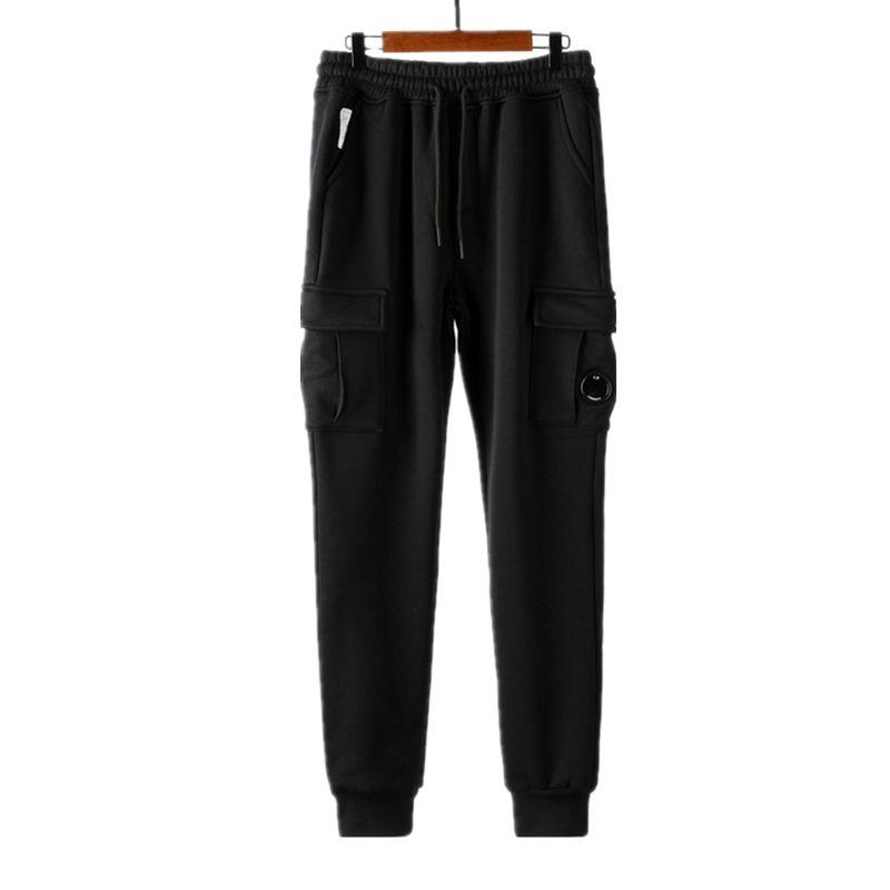 TOPStely 2020 Konng gonng gonng style hiver jogger wei pantalon de mode marque pantalon de sport identique pour hommes peluches et épaissir un pantalon