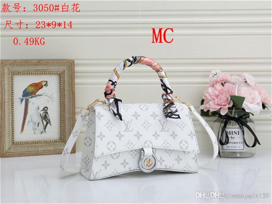 عالية الجودة حقيبة يد حقيبة الكتف الكلاسيكية حقيبة سفر الأزياء حقيبة يد جلدية handbag91 2020 تصميم المرأة مختلطة