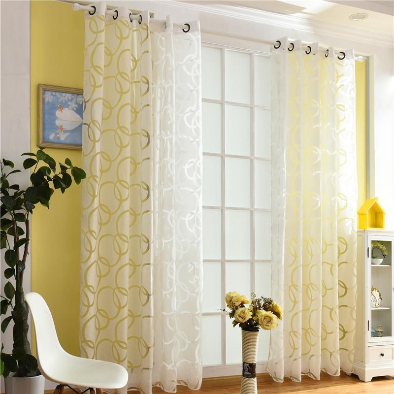 Красивая высокая скорость затенения 85% Blakcout шторы черные и серые шторы для гостиной спальня белый тюль1