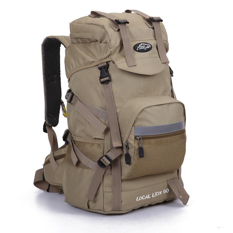 Açık Çanta 45L Su Geçirmez OurDoor Sırt Çantası Spor Sırt Çantası Hiking Tırmanma Kamp Sırt Çantası Packsack Erkekler Kadınlar için