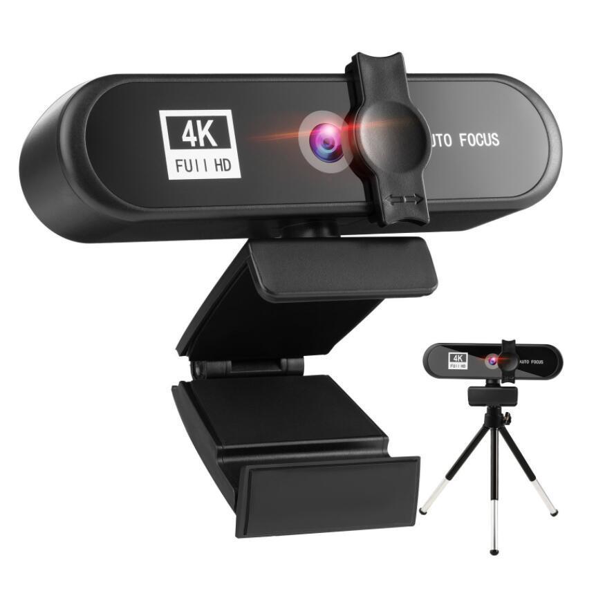1080P 2K 4K конференция PC Webcam Auto Focus USB веб-камеры ноутбук на рабочий стол для офисного собрания дома с микрофоном HD с штативом