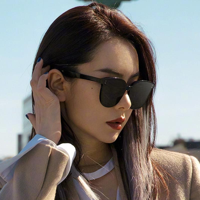 uFZa limitée de qualité supérieure lunettes de soleil cadre dormant demi pour les femmes des hommes rétro vintage nouvelles lunettes de soleil de lentille carrée oeil chat mode sport avec étui