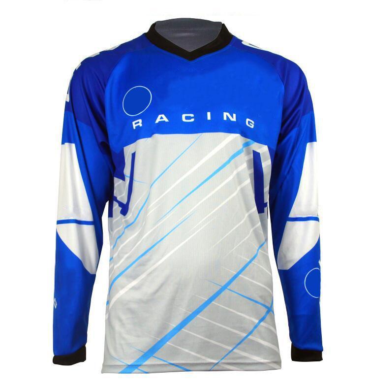 Sommer langärmlige Geschwindigkeitsübertragung T-Shirt Mountainbike Reiten Cross-Country Motorcycle Racing Schnelltrocknungsanzug kann angepasst werden