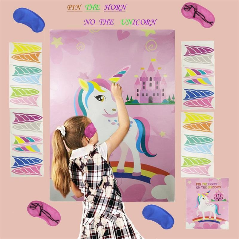 Adesivo Unicorn Creativo Portatile Molti colori Paster Bambini Giocattoli Party Pasta Game Stick Papers Fabbrica Vendita diretta 9GHA P1