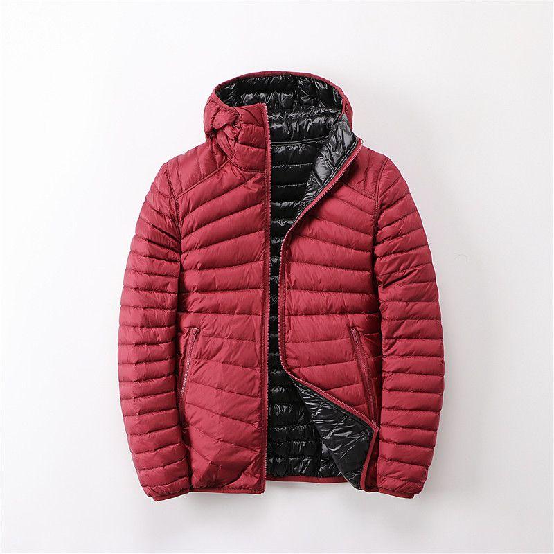Down Jacket Women Parks Ultra Light Feather Double Side Windbreaker Reversible Autumn Winter Female Coat 2020 Brand Tops