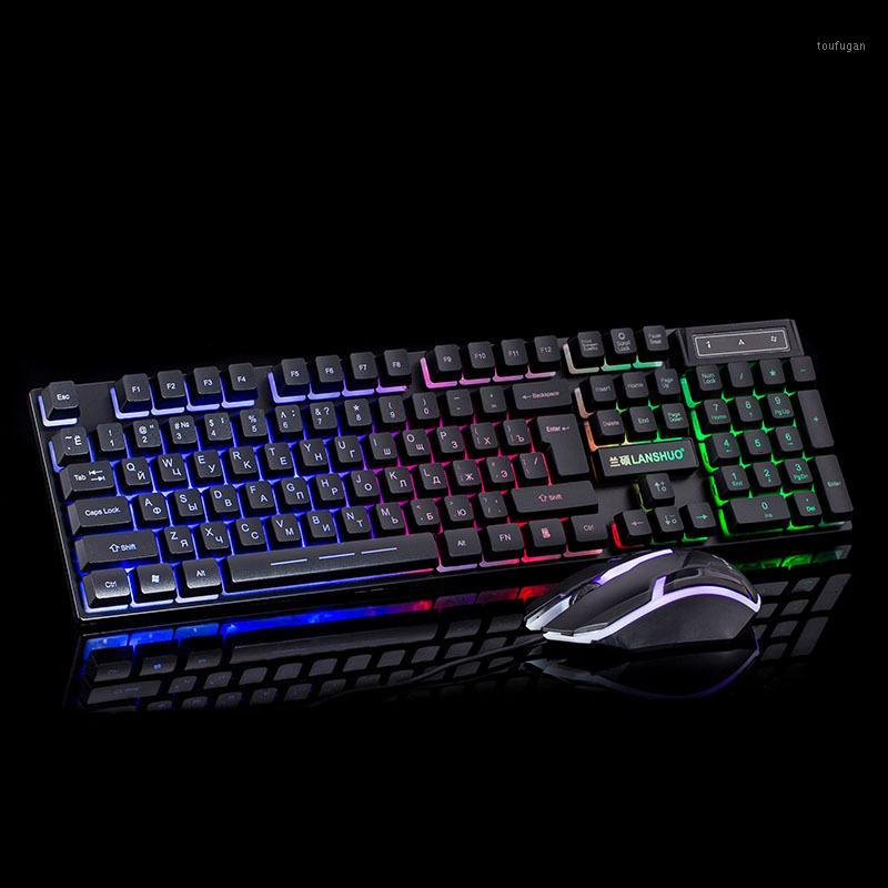 Keyboard and mouse wireless game gaming pc computer accessories Mouse Mechanical for gamer Backlit tablet tablets Gaming laptops1