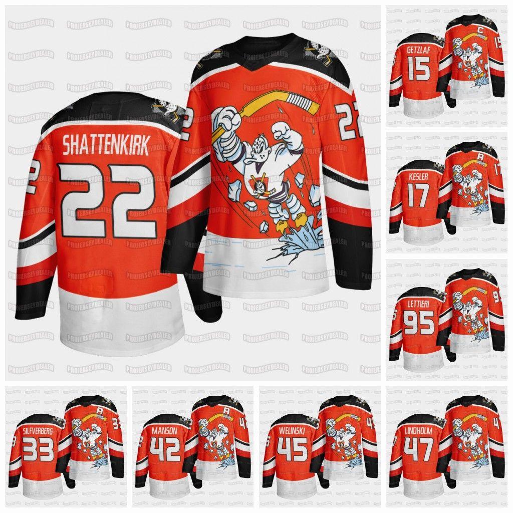 2021 Anaheim Ducks 2021 Fourth Retro Kevin Shattenkirk Jersey Ryan ...