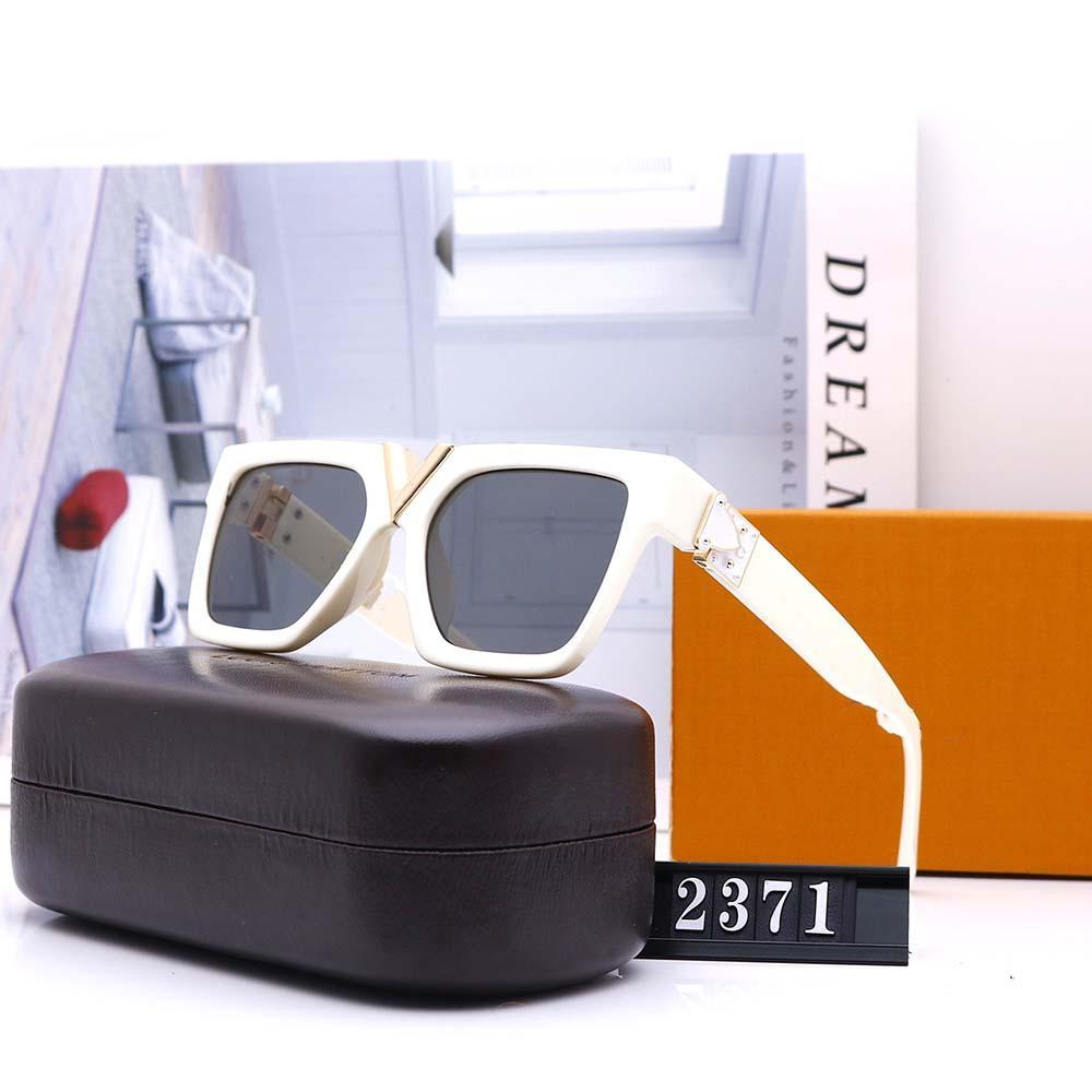 Qualité L96 Womans High Lunettes de soleil Luxe Sun Hommes Lunettes Lunettes Brandes Marque Marque Designer Sunglasses Designer Jfuxg
