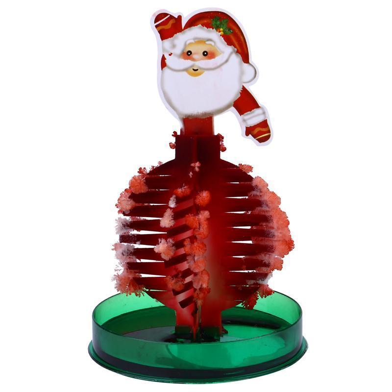 1 stück Weihnachten Kinderspielzeug Weihnachtsbaum Blühende Spielzeug DIY Baum Spielzeug