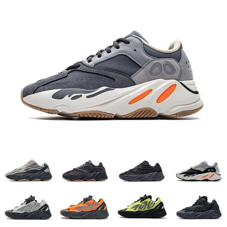 Mens Kanye 700 Analog Carbon Teal Blue Womens Geode Inertia V2 Running Shoes MNVN Reflective Orange Bone Triple Black Tephra Magnet Sneakers