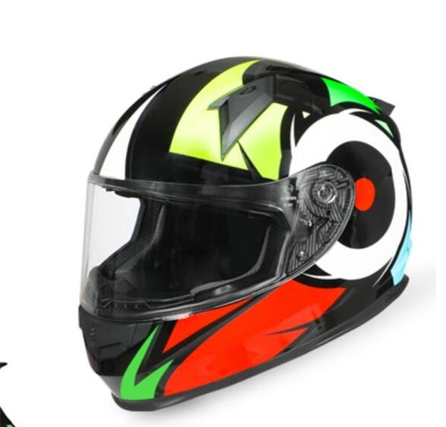 La motocicleta del casco de la motocicleta de invierno anti-vaho casco lleno de cabeza ranurada bluetooth masculina casco gris cuatro estaciones