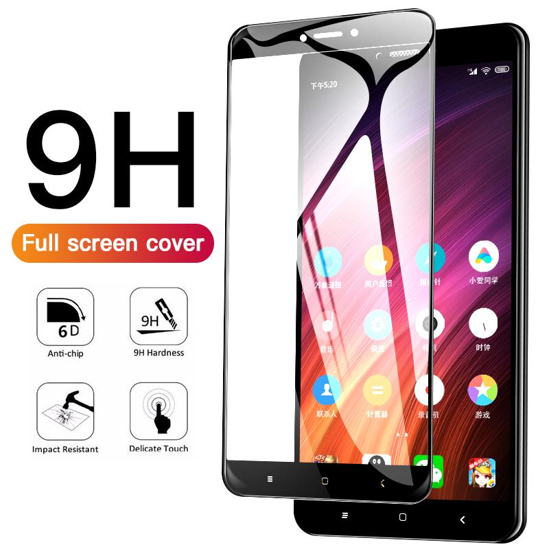 10D Protective Glass For Xiaomi Redmi Note 4X Global Version Screen Protector For Redmi 4 Pro 4A Tempered Glass Film
