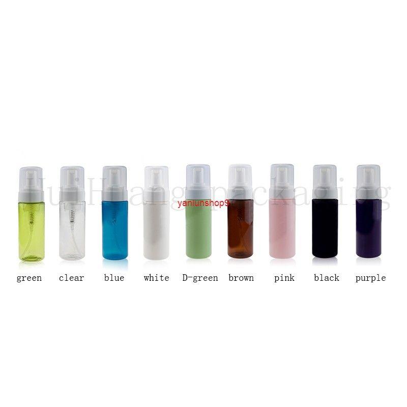 20pcs 150ml vacío negro líquido jabón dispensador de espuma bomba contenedor de espuma de espuma de espuma de plástico botella de viaje, botella de bricolaje cuidura