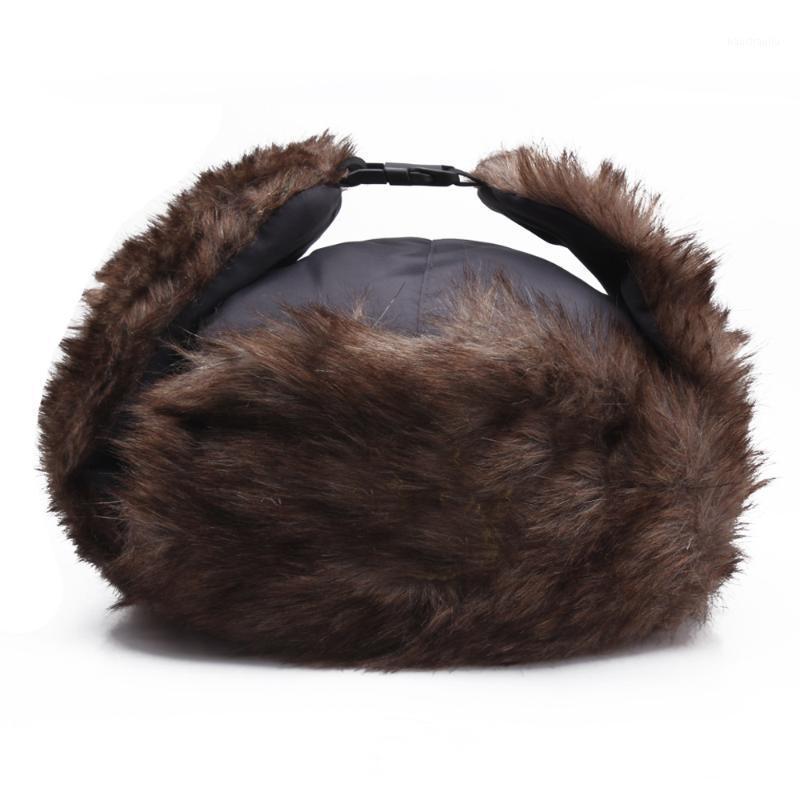 Шапочки зимняя шляпа водонепроницаемый леев feng для мужчин на открытом воздухе, езда плюс бархат теплые женские ушные шапки красные боннеты оптом1