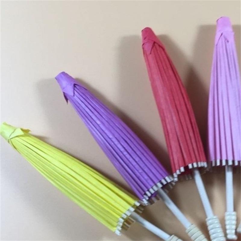 DIY şemsiye boş yağ kağıt zanaat boyama moda şemsiye çocuk anaokulu el boyalı manuel renk sıcak satış 6 5bs4 m2