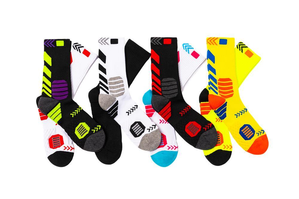 Mens Athletic Casual Socks Cotton Moisture Wicking Work Boot Cushion Crew Socks