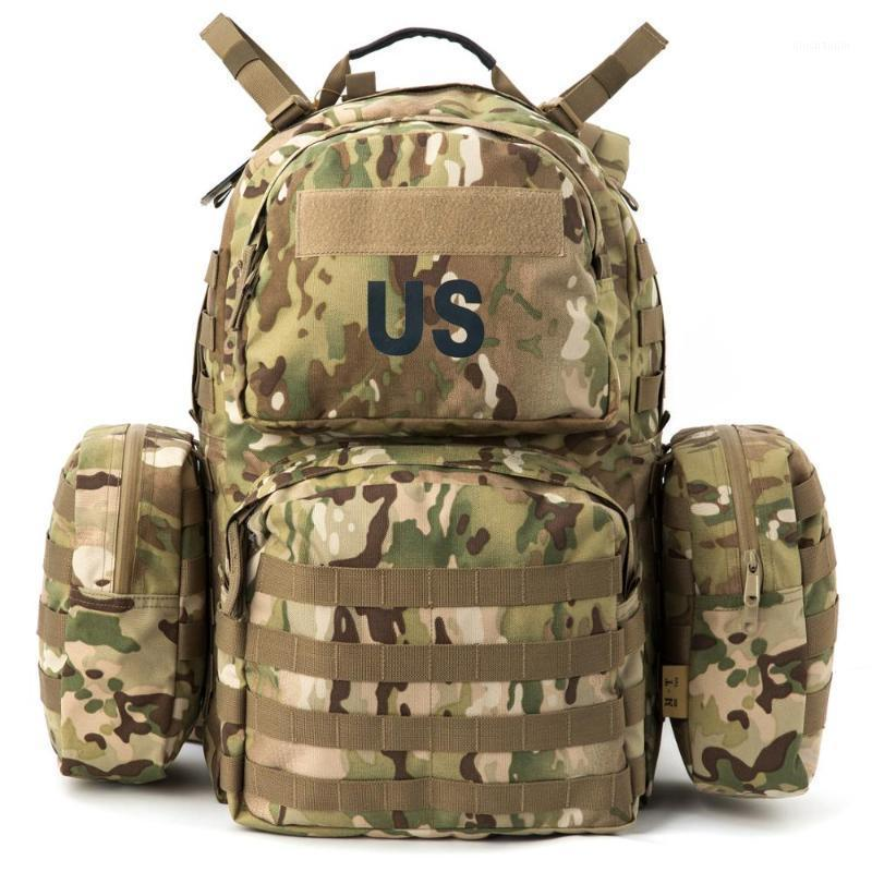 Сумки на открытом воздухе МТ Рюкзак Molle II Диапазон атака Rucksack Army 40L Мужчины Тактический сборник с рамкой Кемпинг Пешие прогулки Bag1