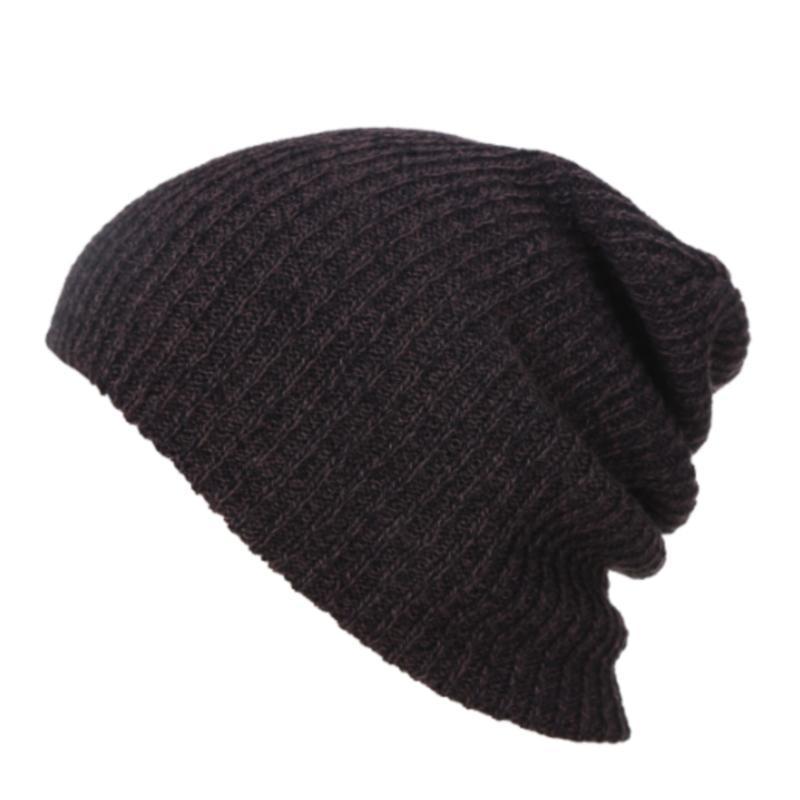 الهيب هوب محبوك قبعة المرأة الشتاء الدافئة عارضة الاكريليك slouchy قبعة الكروشيه التزلج قبعة الإناث لينة فضفاض skullies بيني الرجال