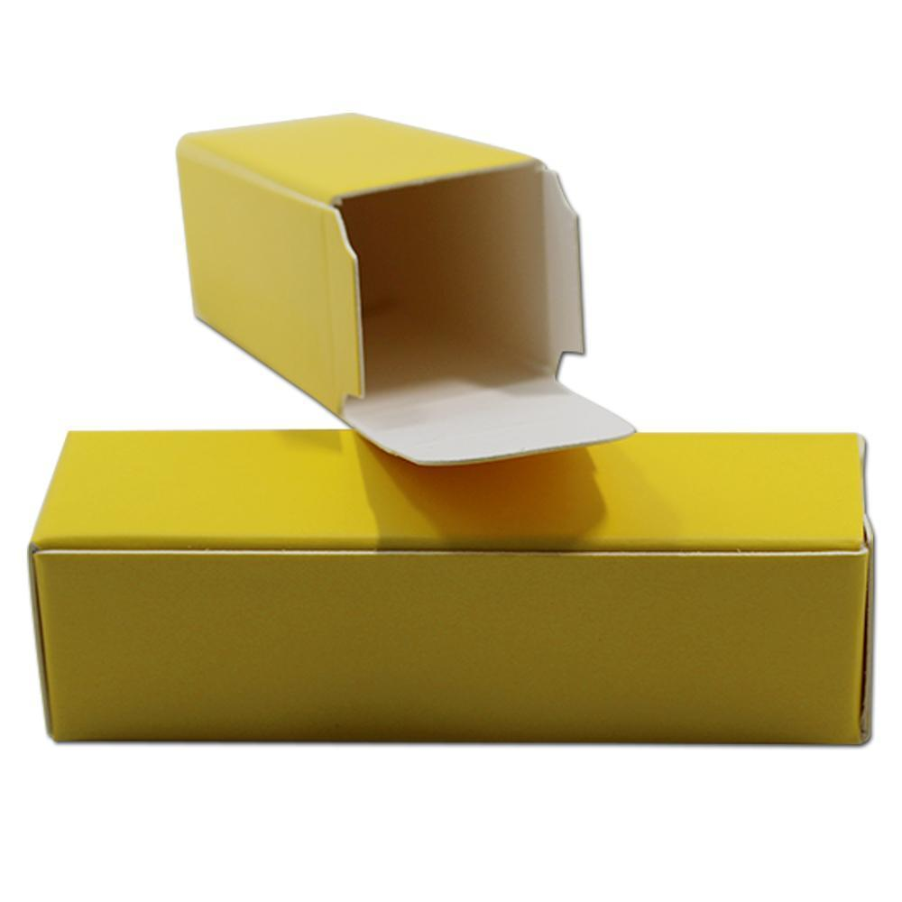 100 unids Lote Colorido Kraft Papel Regalo Artesanía Lápiz labial Papelera Papelización Cajas de embalaje Boda Cumpleaños Papel de embalaje Box H BBYKFH