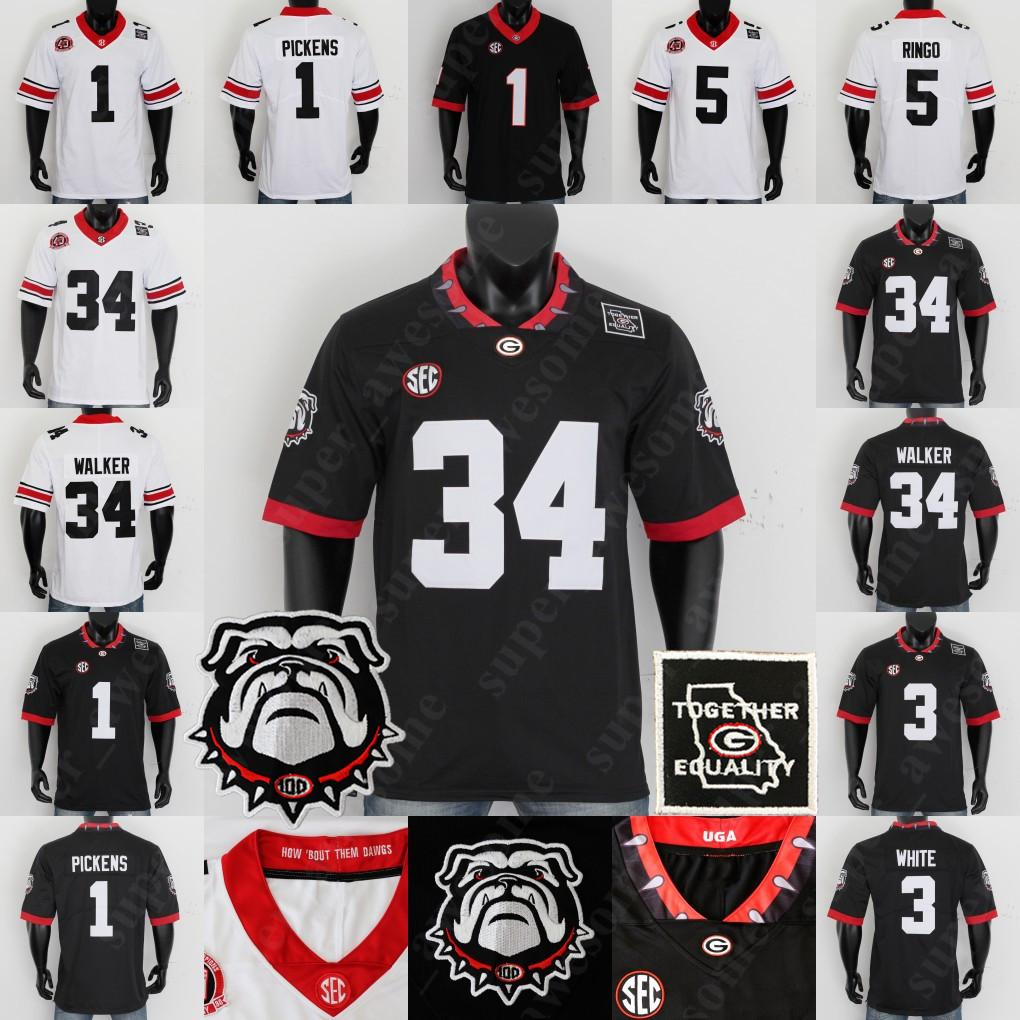 CUSTOM Georgia Bulldogs Fußball-Jersey-Todd Gurley II Nick Chubb Jake Fromm D'Andre Swift Hines Ward David Pollack Roquan Smith A. J. Greene