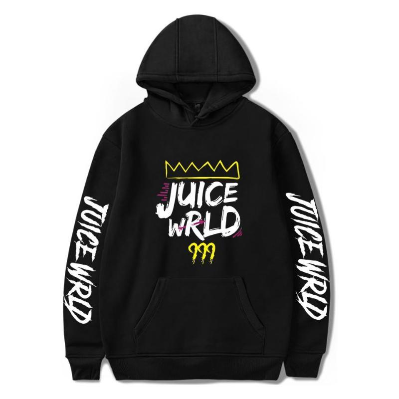 Juice Rapper WRLD Hoodies camisolas Homens Mulheres frete grátis kpop 2020 Streetwear moletom bordado Rip Juice WRLD com capuz