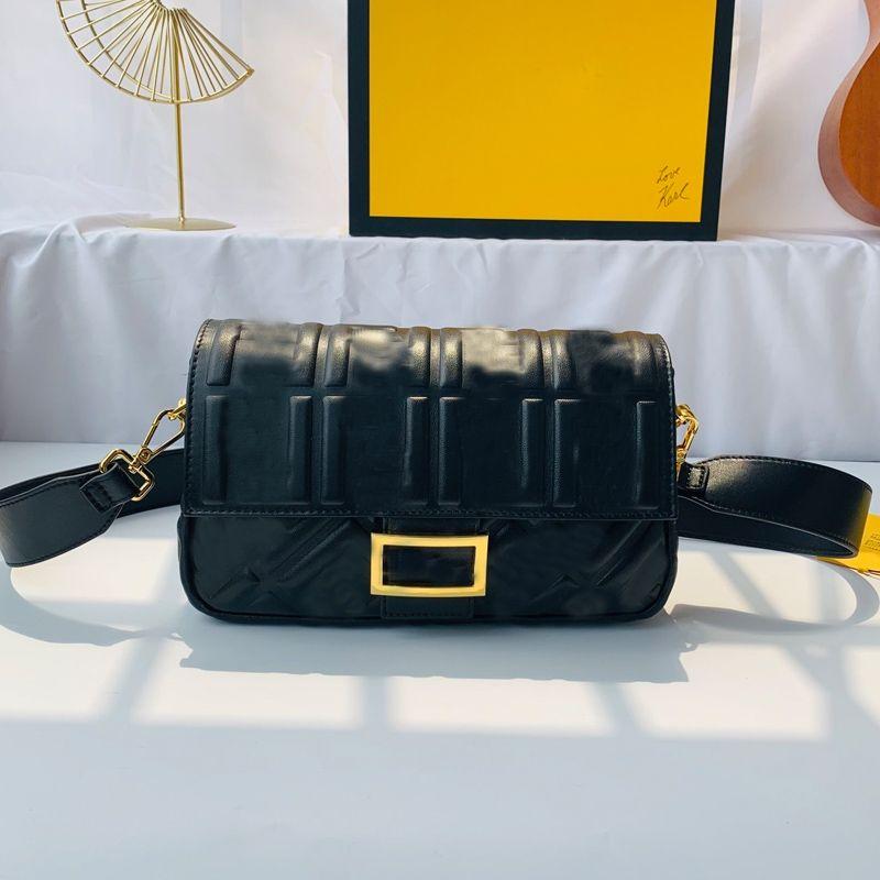Crossbody Bag Sheepskin Leather Women Handbag Purse Embossing F letter Shoulder Bag Detachable Chain Strap Handle Bags Flap Bag High Quality