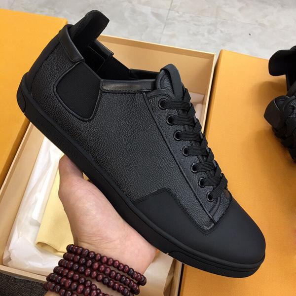 Scarpe da uomo classiche reali in pelle da donna in pelle da scarpe da ginnastica mocassini lace up low top moda designer scarpe scarpe scarpe da uomo con scatola taglia 38-45