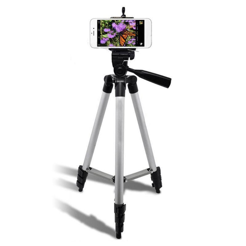 Statives stativ für kamera smartphone aluminiumlegierung bluetooth po halter telefonständer 69ha