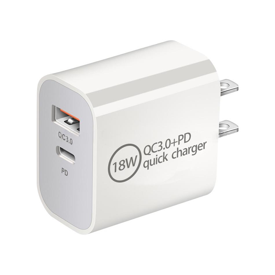 USB Charger C PD 18W QC3.0 veloce ricarica USB un tipo C Quick Charger per Huawei Mate 30 Xiaomi Samsung