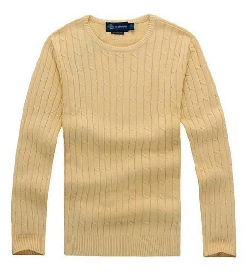 ralph lauren diseñador para hombre envío gratis nuevo milla de alta calidad wile polo marca hombre suéter de punto de algodón de punto suéter jumper jersey alta calidad2v7