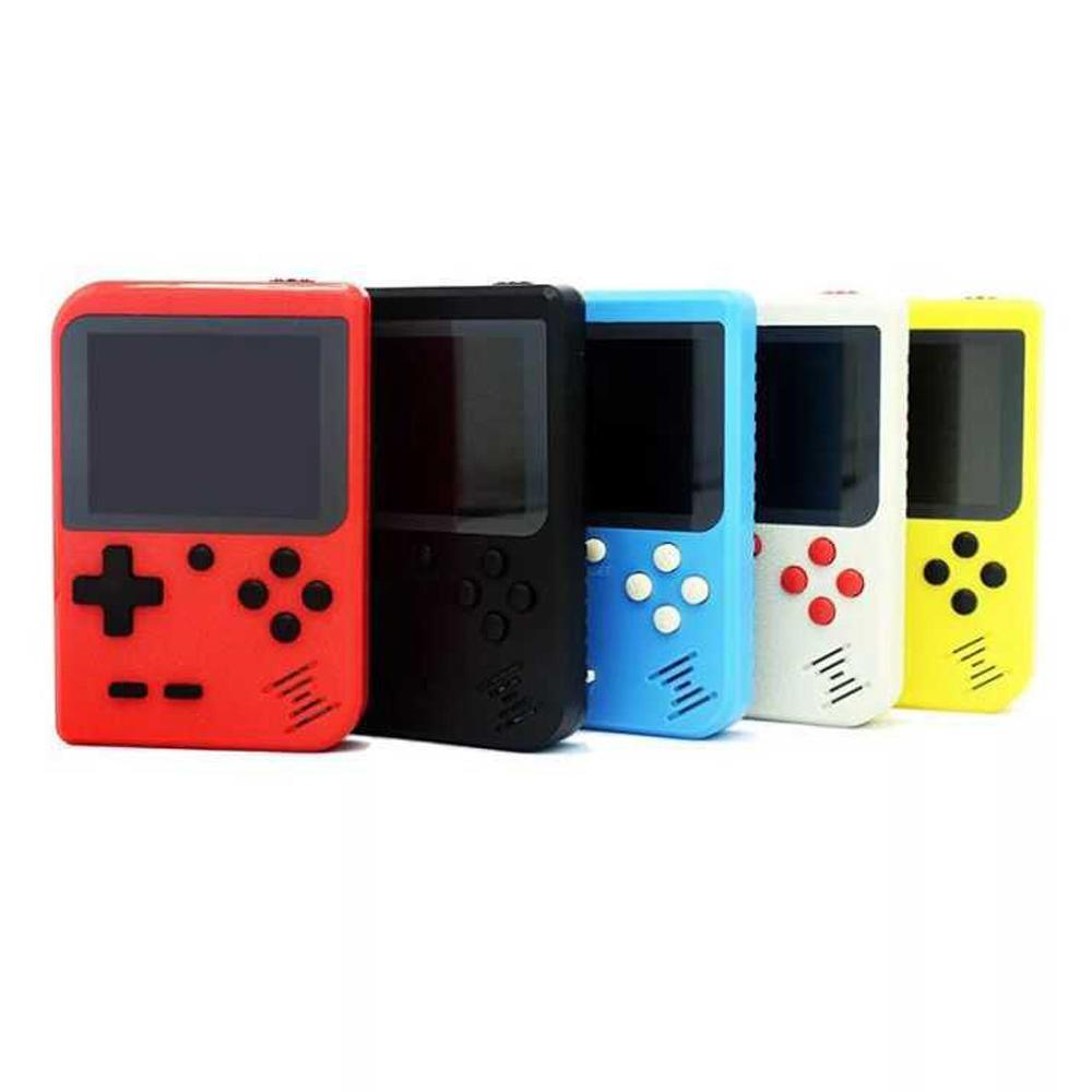 New Mini Portable Handheld Video Game Console Retro 8 Bit Player 400 FC Plus Games 3 In 1 AV TV-Out Pocket Gameboy LCD