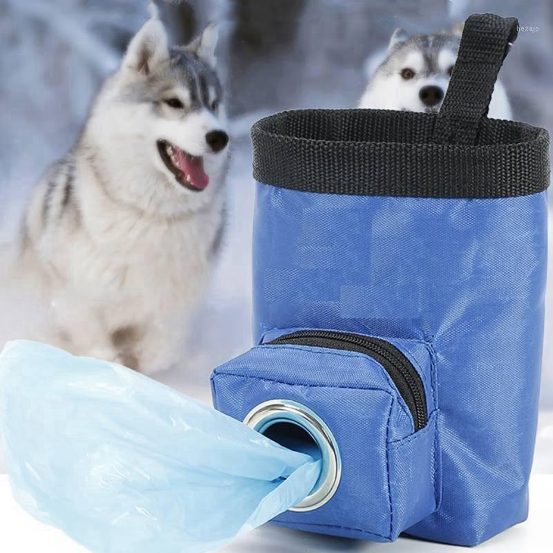 Animal Treat Formation Sac à pied Chiens Portable Sac à dos Portable Oxford Sac Tissu Sac Taille Pack1