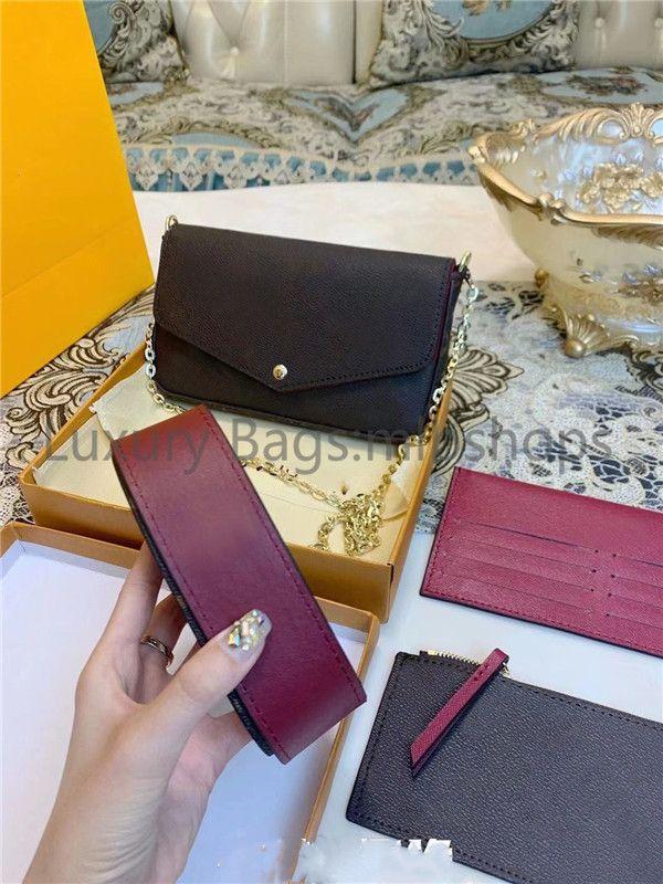 Top féminin de luxe luxurys designers sacs de femmes mère cuir sacs à main de qualité Mère sac à main sac à épaules Bill Cadrage Fashion Package IGFM
