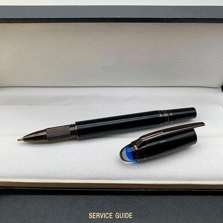 انخفاض سعر الترويج - جودة عالية أسود الراتنج الكرة الأسطوانة القلم قلم القلم القرطاسية اللوازم المدرسية مكتب الكتابة بين الخيارات السلسة
