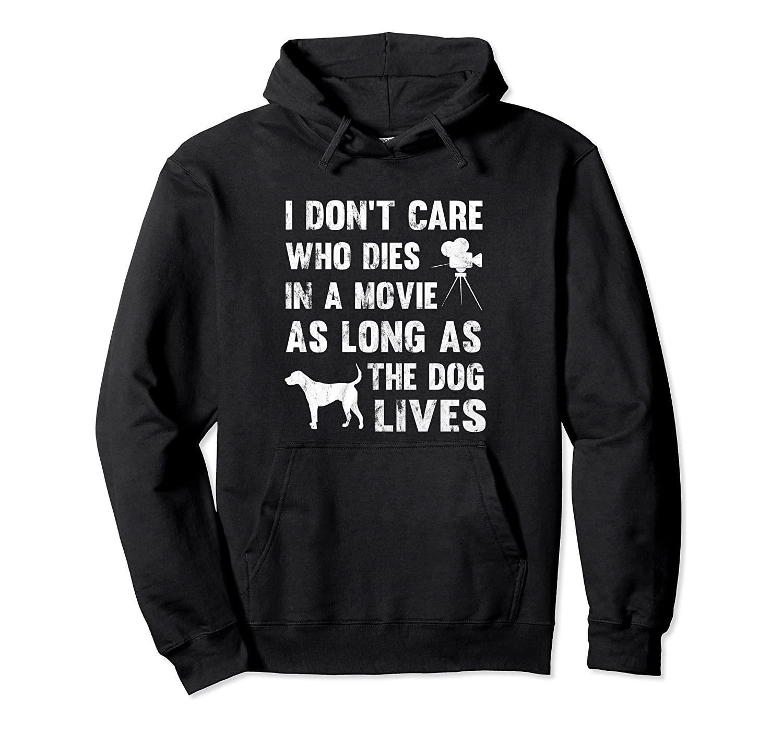 Non mi interessa che muore in film come lungamente come cane vive con cappuccio unisex di formato S-5XL con colore nero / grigio / blu / azzurro reale / Scuro Heather
