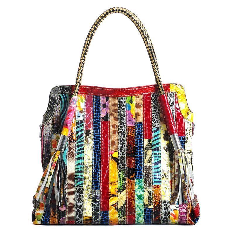 Les femmes de haute qualité en cuir de style européen et américain sac à main de couleur moyen Bloc sac Femme Mesdames épaule sac fourre-tout B445