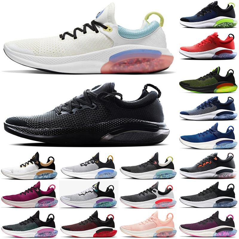 REACT JOYRIDE RUN FK Erkek Koşu Ayakkabıları Platin Tonu Racer Mavi Üniversitesi Kırmızı Kadın Chaussures Eğitmenler Atletik Spor Sneaker Boyutu 36-45