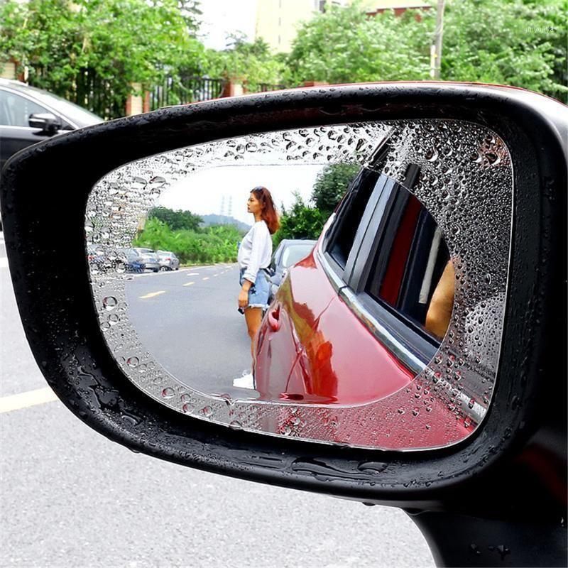 4X NOUVEAU STYLE FILM ANMAIL FILM ANTI-BOGE FILM REFLECTIVE ANTI-STRATS CLEAR CLEAR Film pour rétroviseur de voiture