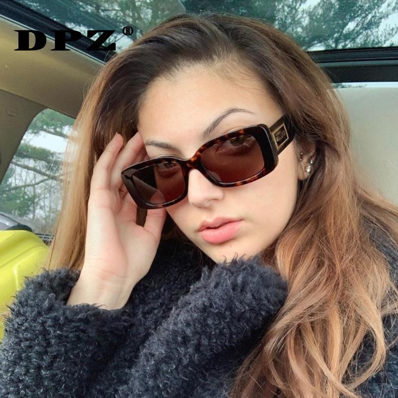 DPZ 2020 Moda METOS PERSONALIZADOS METOS DE METAL Gafas de sol Irregular Pequeño Marco Mujer Gafas de sol UV400 DE SOL1