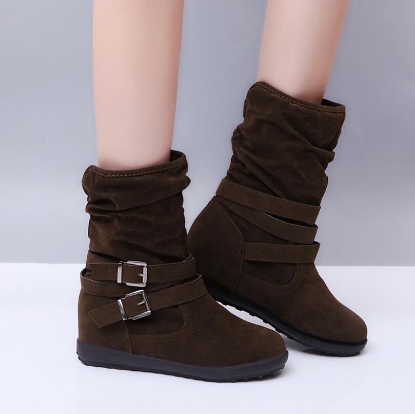2021 أحدث وصول المرأة الكلاسيكية المنخفضة الأحذية أعلى جودة أحذية الثلوج الشتاء أحذية حجم 35-43