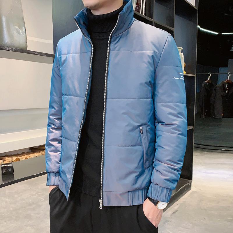 2020 Новый роскошный дизайнер мужская мягкая куртка мужская хлопчатобумажная одежда Осенью и зима молодежь теплые хлопчатобумажные пальто