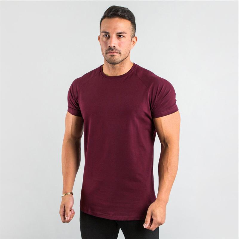 Maglietta a maniche lunghe t-shirt a maniche lunghe a maniche rotonde a maniche lunghe a maniche lunghe da uomo