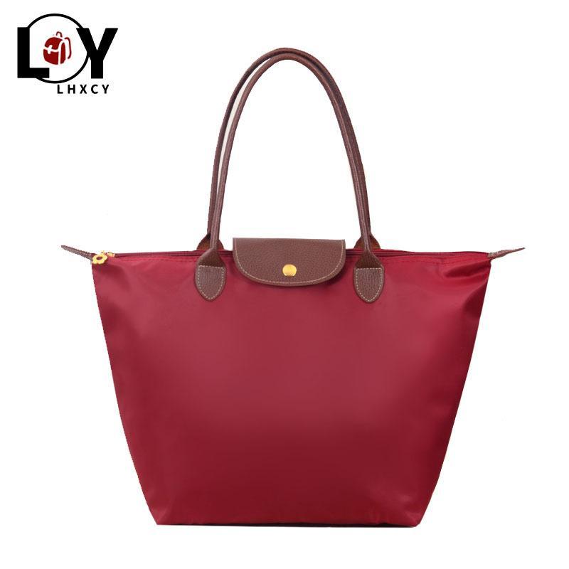 Grande capacità di Oxford panno spalla Shopping Bag Beach Tote Bag Designer nylon borse e borsette di lusso Big Size Shopping Bag C1009