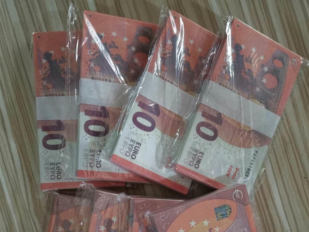 10 Euro Fabrik Direktverkauf Papier Geld Banknoten Spielzeug Lehrmittel Set Fake Geld