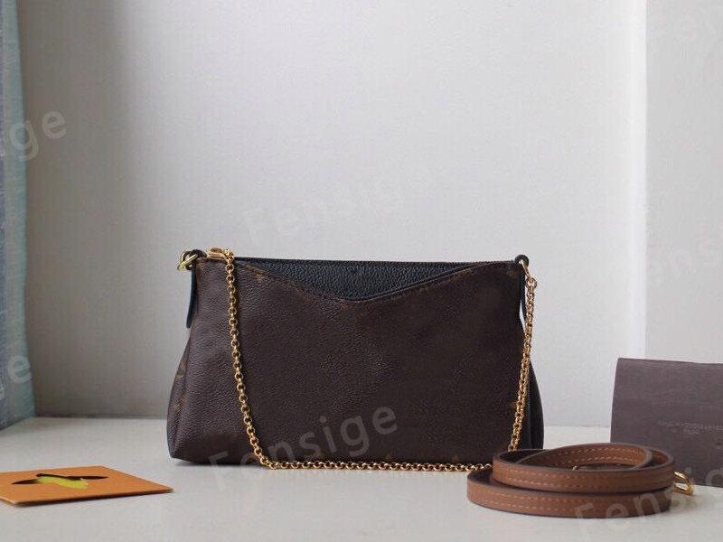 أزياء البلاس القابض حقائب جلدية محفظة أحادية قماش براثن حقيبة النساء حمل الذهب سلسلة الصليب الجسم حقيبة الكتف 41638