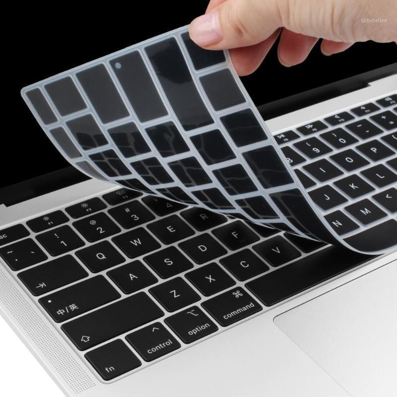 Keyboard Cover for New 2020 Model A2179 US Enter English Alphabet Silicone Keyboard Protector Skin With Touch ID1