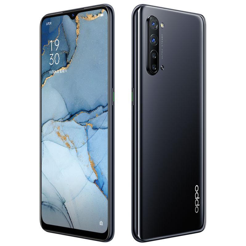 "Original Oppo Reno 3 5G Mobile Phone 12GB RAM 128GB ROM MTK 1000L Octa Core 64MP OTG NFC 4025mAh Android 6.4"" AMOLED Full Screen Fingerprint ID Face Smart Cell Phone"