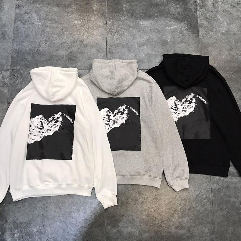 2020 Nouveaux produits Hommes à capuche de haute qualité imprimé Sweat-shirt Mode hommes et femmes Pull à capuche Taille M-XXL